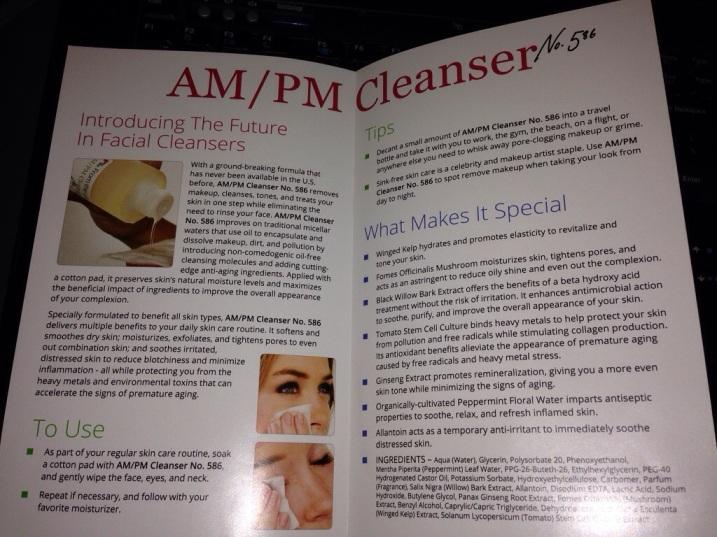 AM/PM Cleanser no. 586